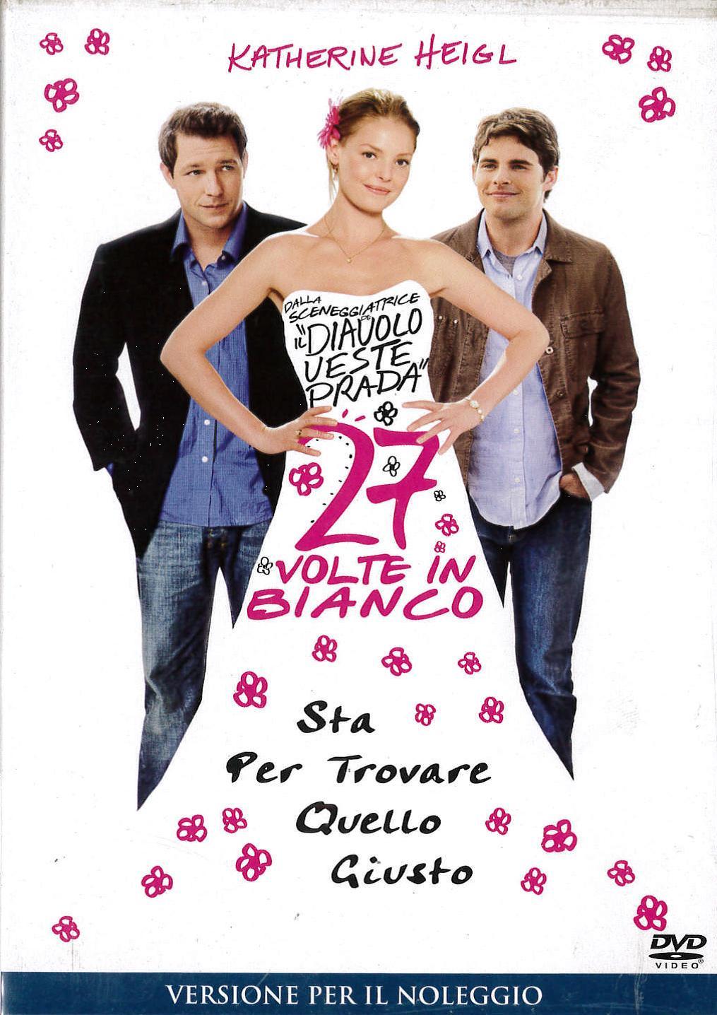 27 VOLTE IN BIANCO - EX NOLEGGIO (DVD)
