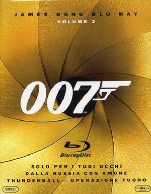 COF.007 - SOLO PER I TUOI OCCHI / DALLA RUSSIA CON AMORE / THUNDERBALL (3 BLU-RAY) (1963, 1965, 1981
