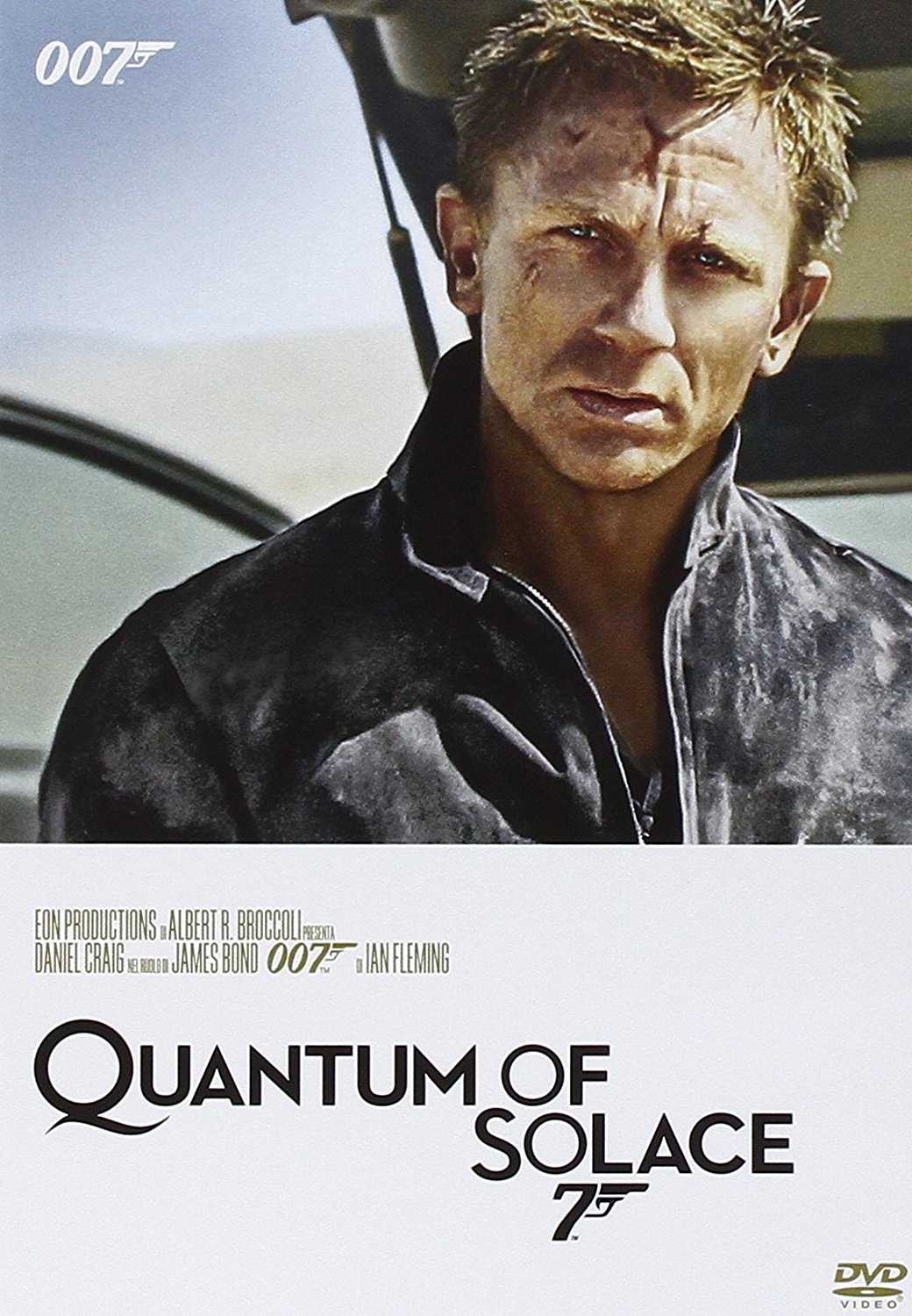 007 - QUANTUM OF SOLACE (DVD)