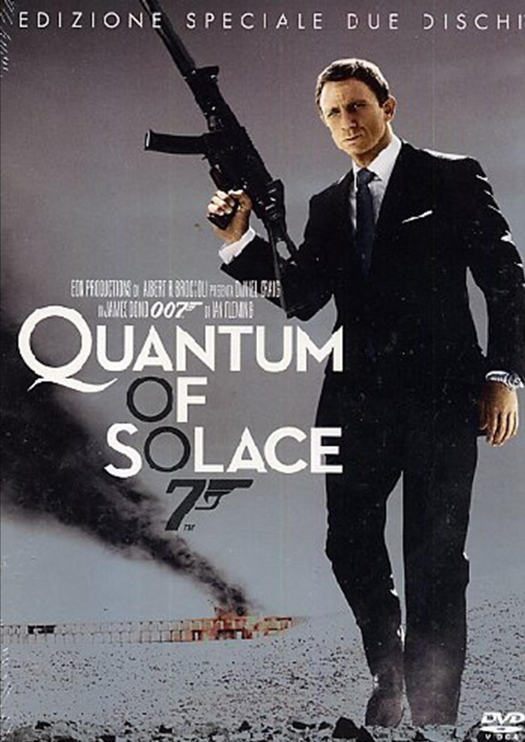 007 - QUANTUM OF SOLACE (2DVD) (DVD)