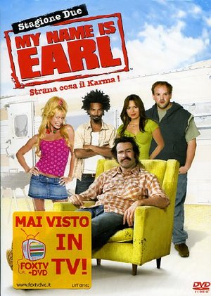COF.MY NAME IS EARL - STAG.02 (4 DVD) (DVD)