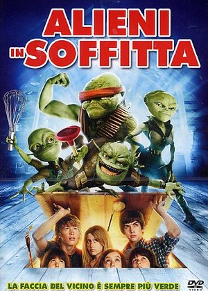 ALIENI IN SOFFITTA (DVD)