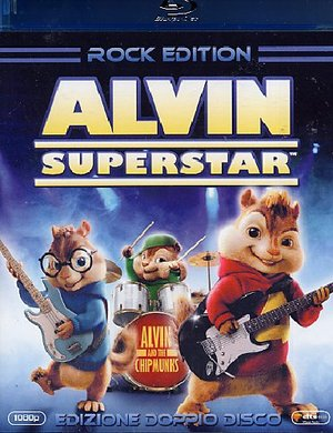 ALVIN SUPERSTAR (ROCK EDITION) (2 BLU-RAY)