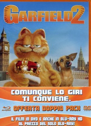 GARFIELD 2 - IL FILM (EDIZIONE B-SIDE) (DVD+BLU-RAY)