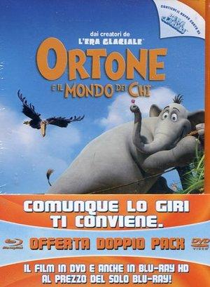ORTONE E IL MONDO DEI CHI (EDIZIONE B-SIDE) (DVD+BLU-RAY)