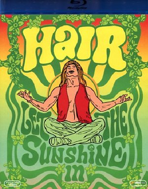 HAIR (BLU-RAY )