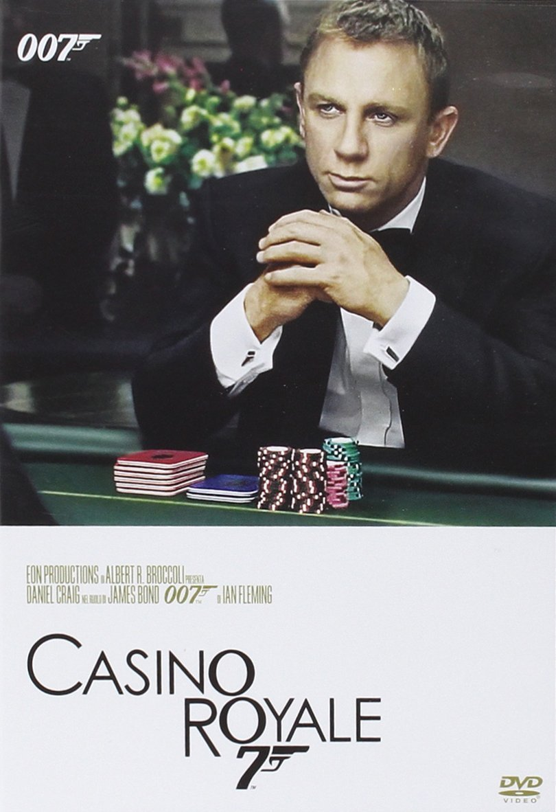 007 - CASINO ROYALE (DVD)