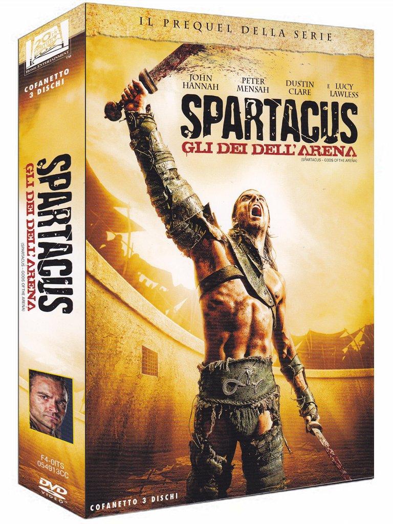 COF.SPARTACUS - GLI DEI DELL'ARENA (3 DVD) (DVD)