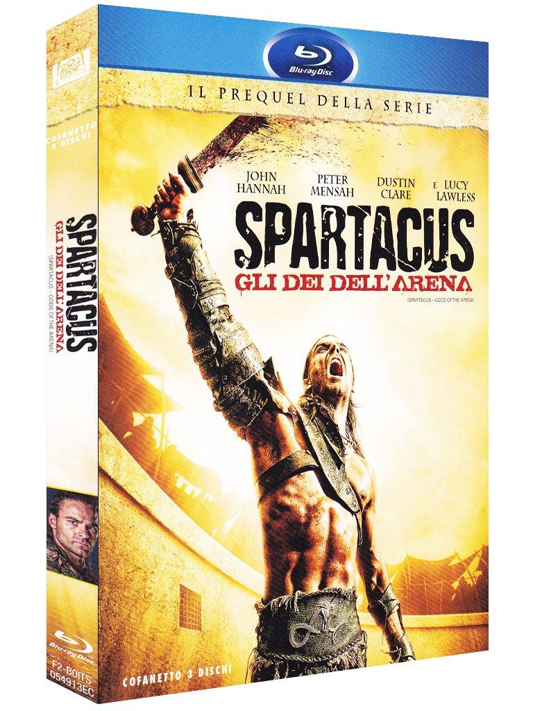 COF.SPARTACUS - GLI DEI DELL'ARENA (3 BLU-RAY)