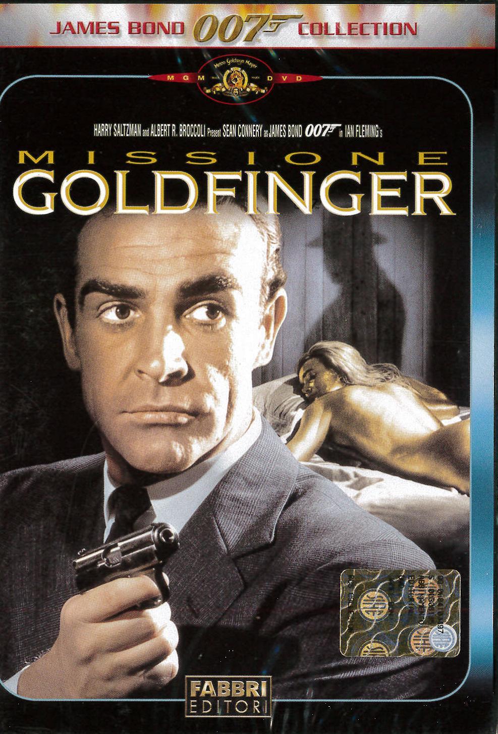 007 - MISSIONE GOLDFINGER (DVD)