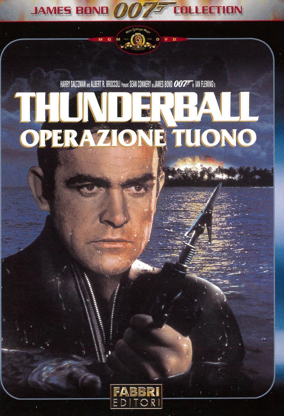 007 - THUNDERBALL - OPERAZIONE TUONO (DVD)
