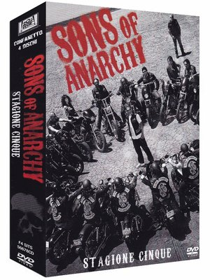 COF.SONS OF ANARCHY - STAGIONE 05 (4 DVD) (DVD)