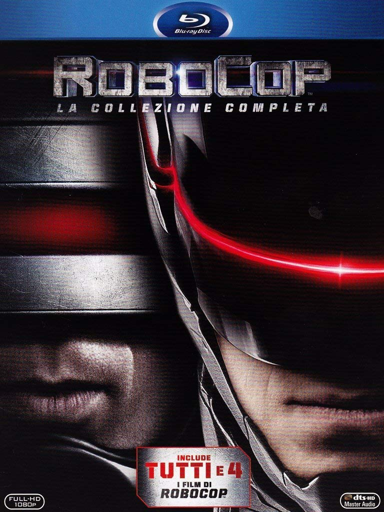 COF.ROBOCOP COLLECTION (4 BLU-RAY)