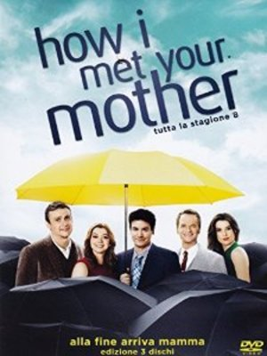 COF.HOW I MET YOUR MOTHER - STAG.08 (3 DVD) (DVD)