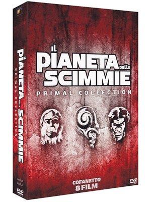 COF.IL PIANETA DELLE SCIMMIE - LA SAGA COMPLETA (8 DVD) (DVD)