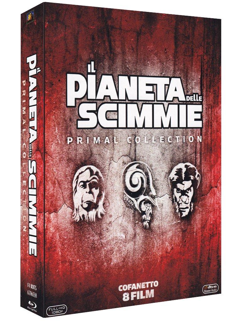 COF.IL PIANETA DELLE SCIMMIE - LA SAGA COMPLETA (8 BLU-RAY)