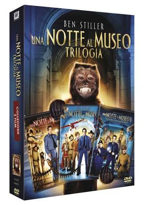 COF.UNA NOTTE AL MUSEO - TRILOGIA (3 DVD) (DVD)