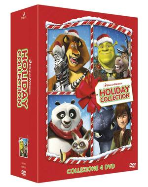 COF.DREAMWORKS CHRISTMAS SHORTS COLLECTION (4 DVD) (DVD)