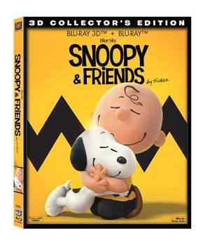 SNOOPY AND FRIENDS - IL FILM DEI PEANUTS (3D) (BLU-RAY 3D+BLU-RAY)