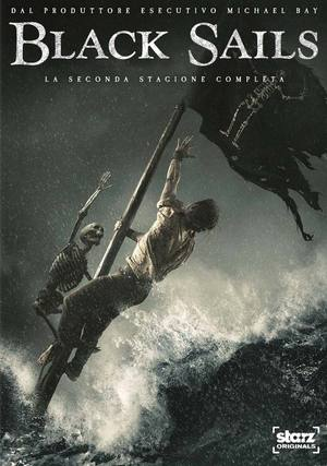 COF.BLACK SAILS - STAGIONE 02 (3 DVD) (DVD)