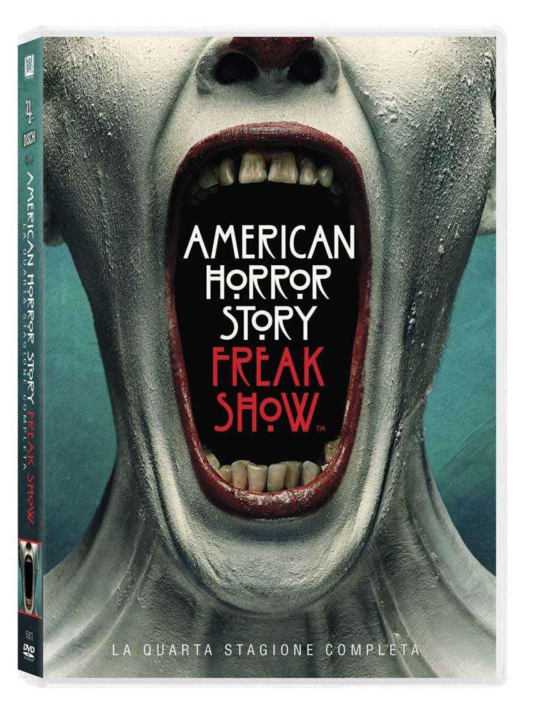 COF.AMERICAN HORROR STORY - STAGIONE 04 - FREAK SHOW (4 DVD) (DVD)