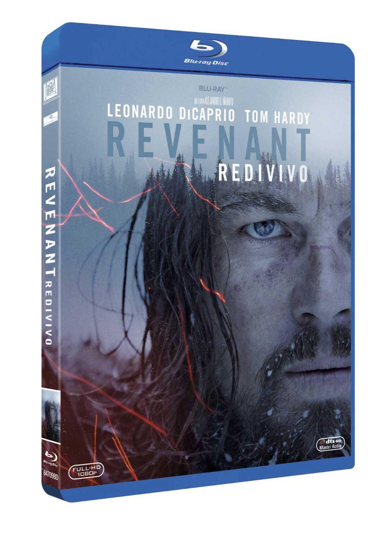 REVENANT - REDIVIVO (BLU RAY)