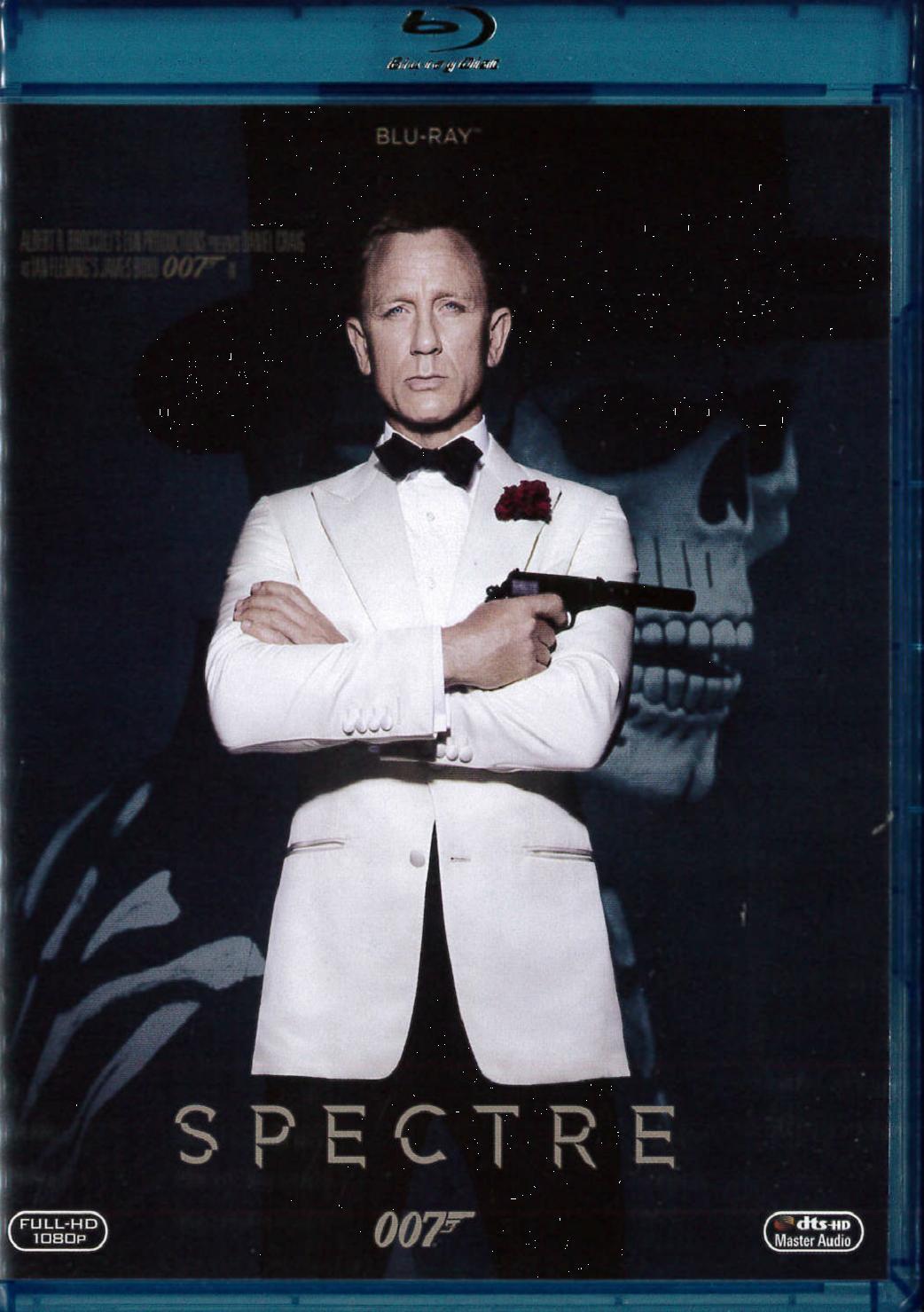 007 - SPECTRE (BLU RAY+DVD) - USATO