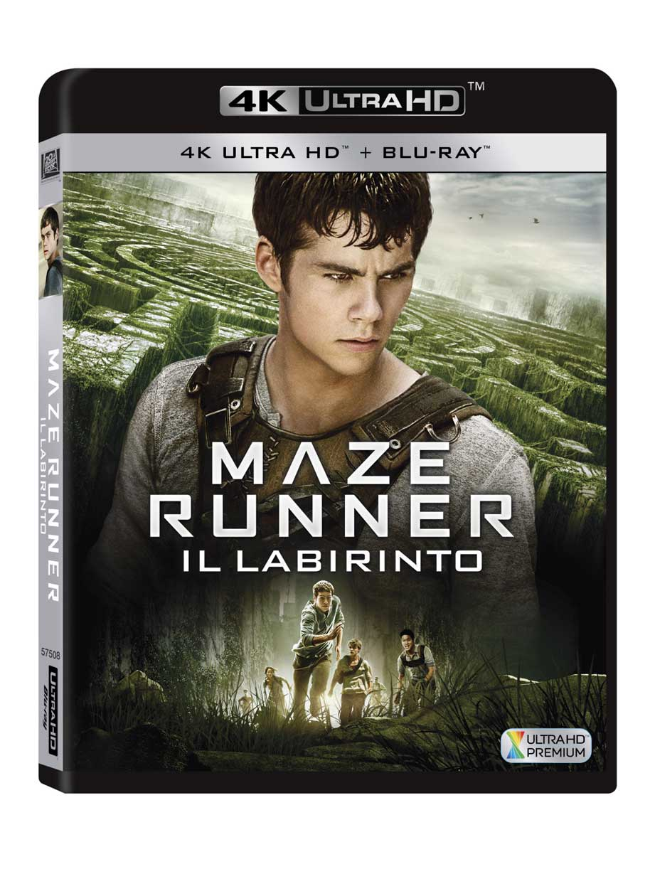 MAZE RUNNER - IL LABIRINTO (BLU-RAY ULTRA HD 4K+BLU-RAY)