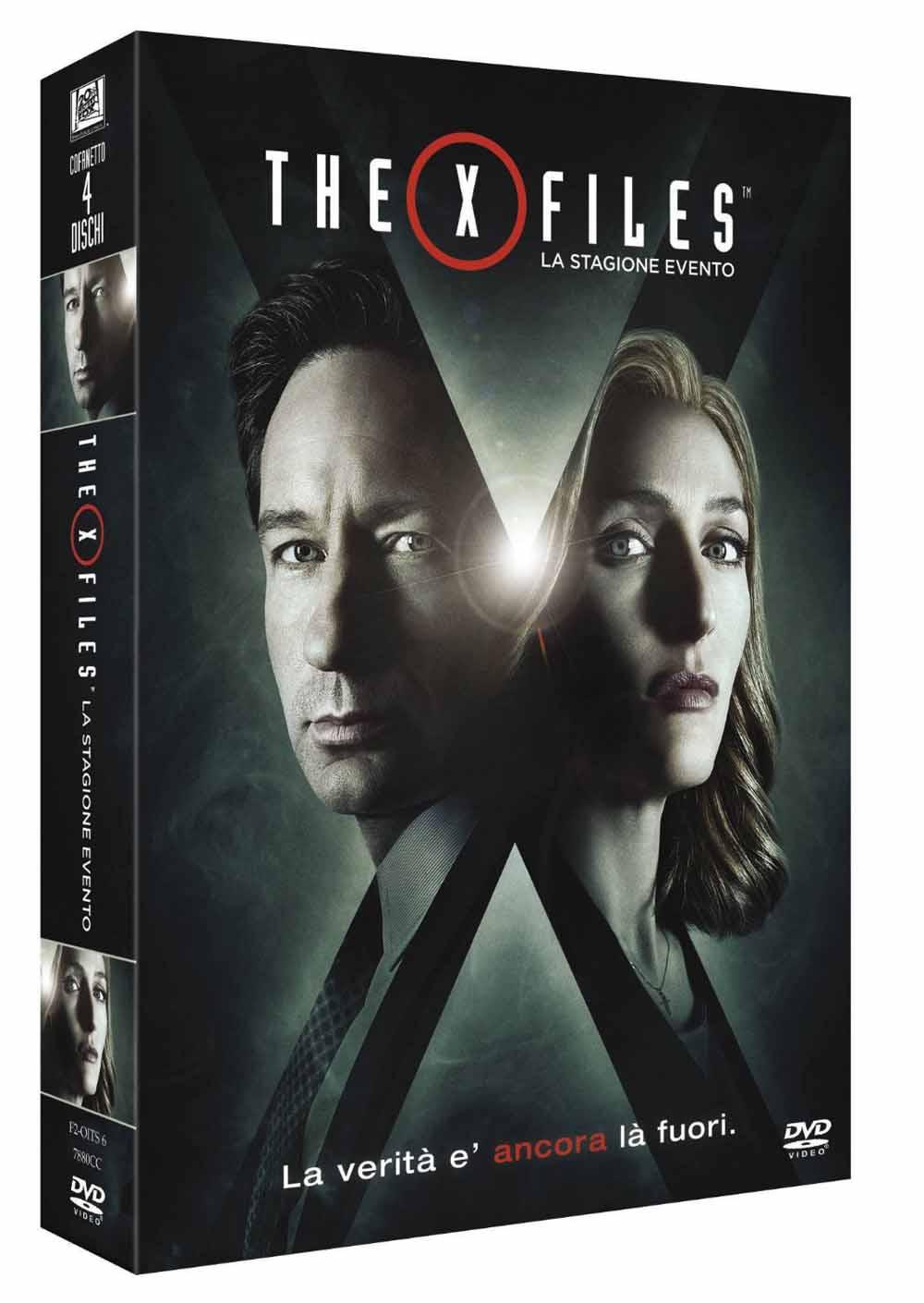 COF.THE X FILES - LA STAGIONE EVENTO (3 DVD) (DVD)