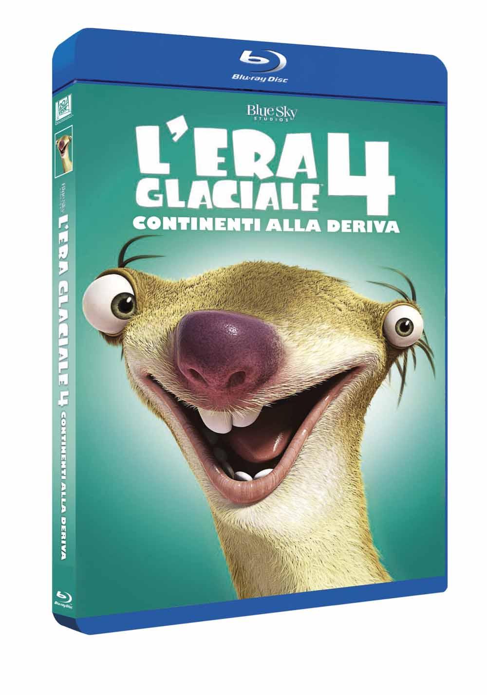 L'ERA GLACIALE 4 - CONTINENTI ALLA DERIVA (BLU RAY)