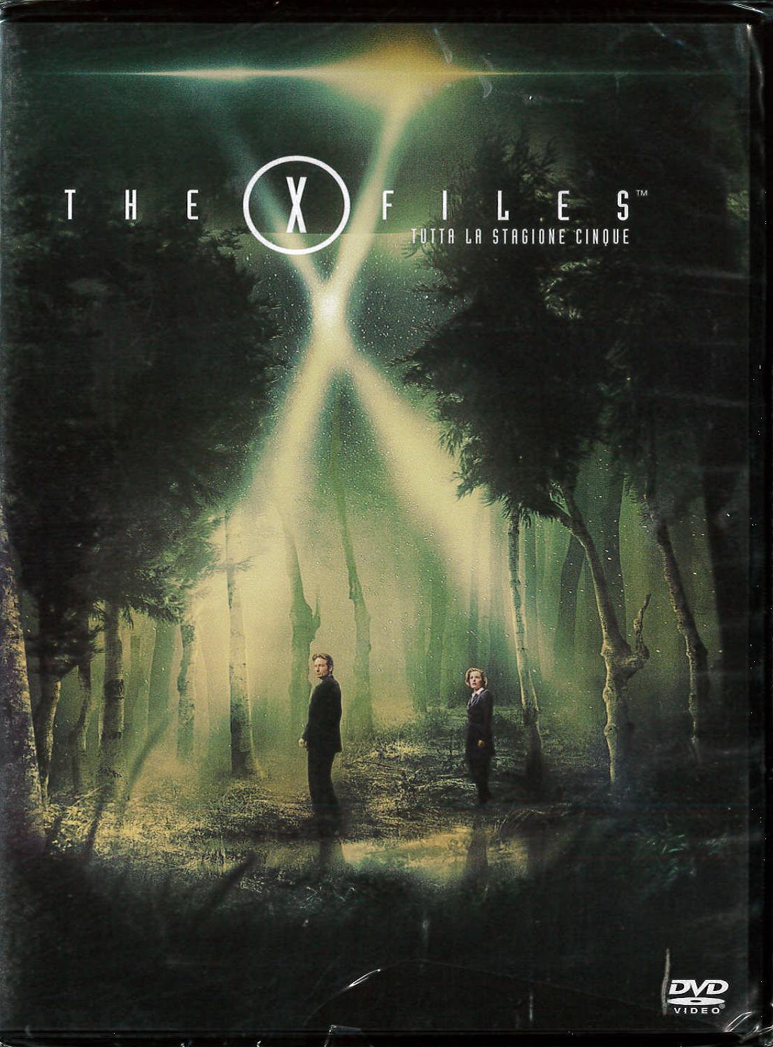 COF.THE X FILES 05 (6 DVD) (DVD)