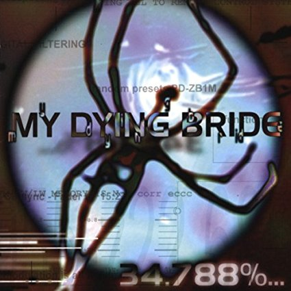 MY DYING BRIDE - 34.788% ... COMPLETE IMPORT (CD)