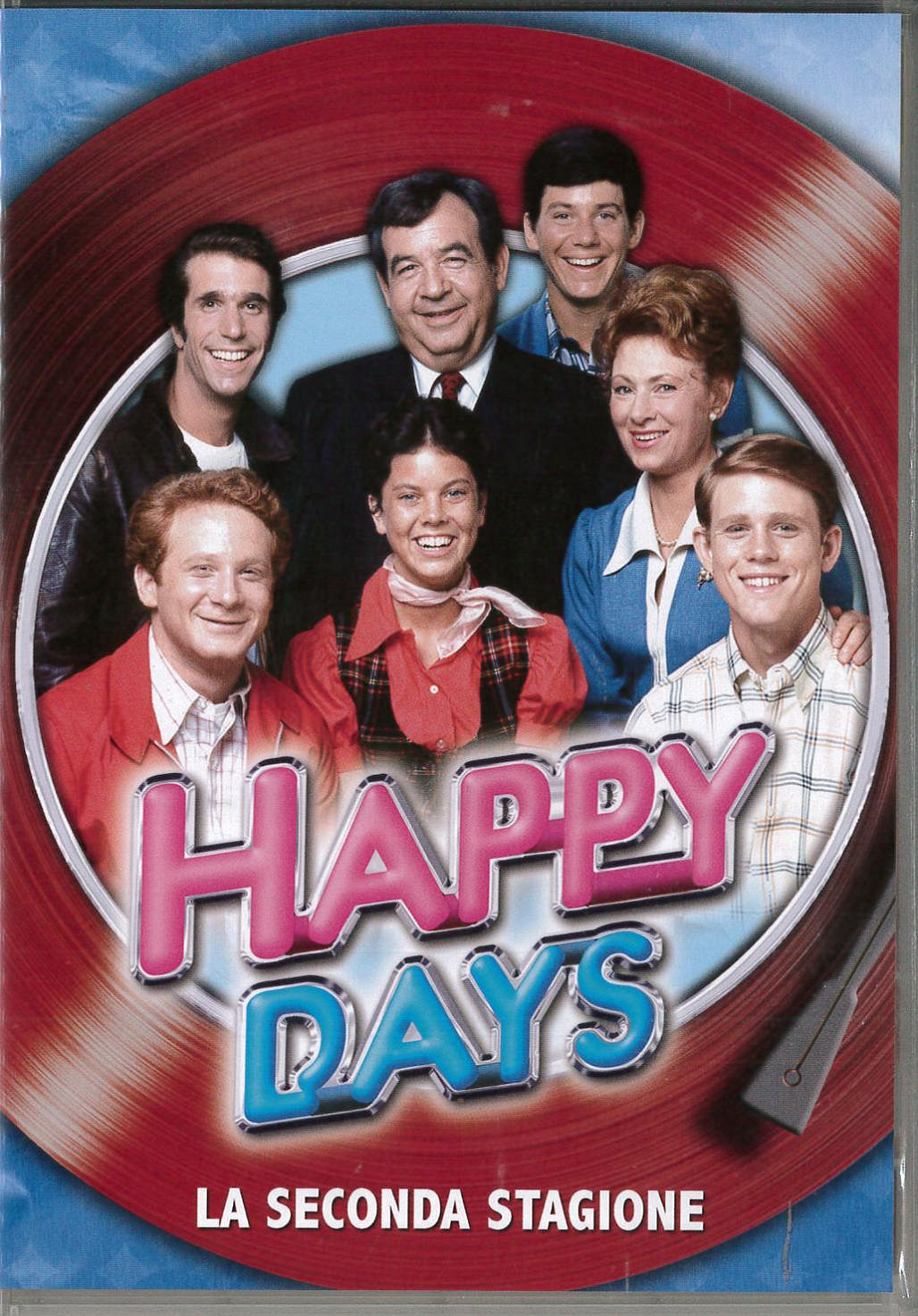 COF.HAPPY DAYS - STAG.02 (4 DVD) (DVD)
