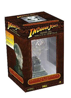 COF.INDIANA JONES E IL REGNO DEL TESCHIO DI CRISTALLO (LTD) (2 DVD+TESCHIO) (2008 ) (DVD)
