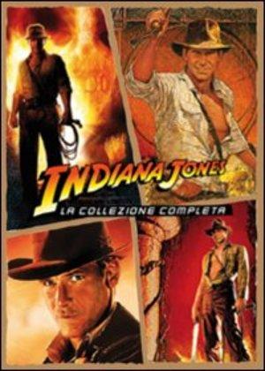 COF.INDIANA JONES QUADRILOGIA (5 DVD) (1981, 1984, 1989, 2008 )