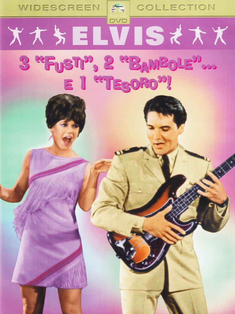 3 FUSTI 2 BAMBOLE E 1 TESORO - EX NOLEGGIO (DVD)
