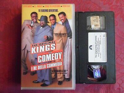 THE ORIGINAL KINGS OF COMEDY - I RE DELLA COMMEDIA (VHS)