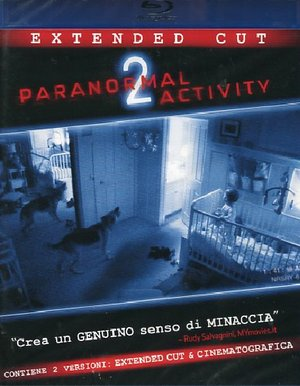 PARANORMAL ACTIVITY 2 (EXTENDED CUT) - BLU-RAY