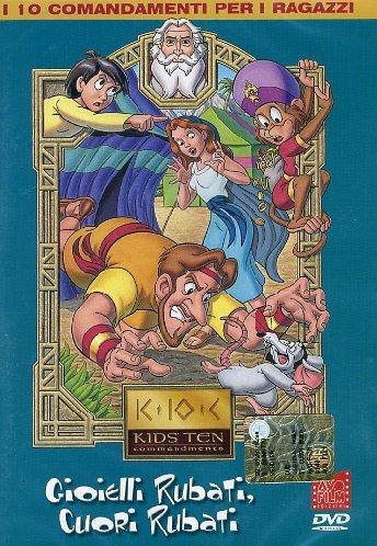 I 10 COMANDAMENTI PER I RAGAZZI VOLUME 04 (DVD)