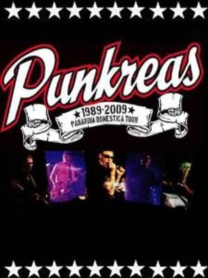 PUNKREAS - PARANOIA DOMESTICA LIVE (DVD)