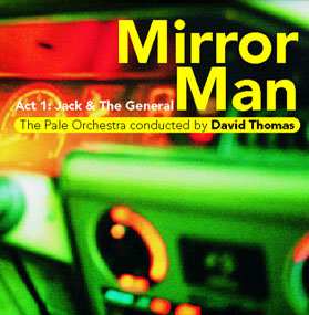 DAVID THOMAS - MIRROR MAN (CD)