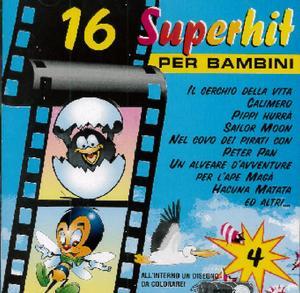 16 SUPERHIT PER BAMBINI VOL.4 (CD)