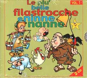 LE PIU' BELLE FILASTROCCHE E NINNE NANNE VOL.1 -2CD (CD)