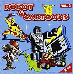 ROBOT & CARTOONS VOL.2 -2CD (CD)