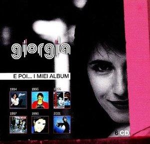 GIORGIA - E POI... I MIEI ALBUM -6CD (CD)