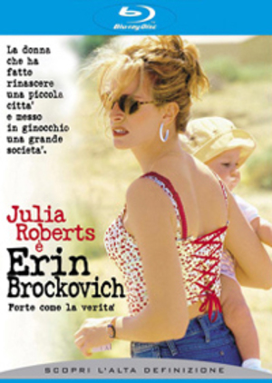 ERIN BROCKOVICH FORTE COME LA VERITA' (BLU-RAY)