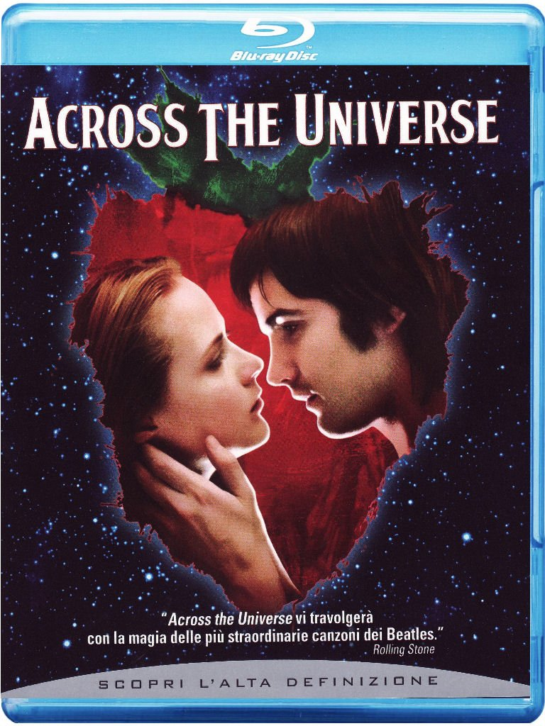 ACROSS THE UNIVERSE (BLUE-RAY)