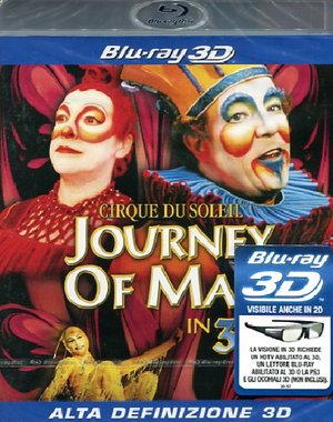 CIRQUE DU SOLEIL - JOURNEY OF MAN (REAL 3D) (BLU-RAY)