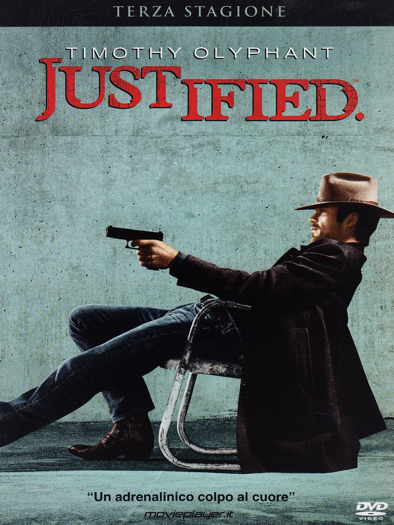 COF.JUSTIFIED - STAGIONE 03 (3 DVD) (DVD)