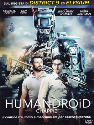 HUMANDROID - CHAPPIE (DVD)